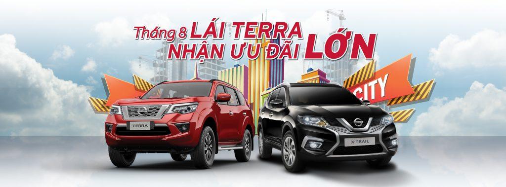 Chương Trình Khuyến Mãi Xe Nissan Tháng 8/2019