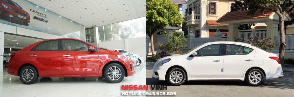 So sánh Nissan Sunny và Kia Soluto về an toàn và vận hành