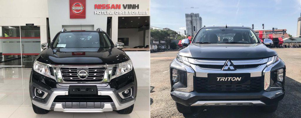 So sánh chi tiết Nissan Navara 2019 và Mitsubishi Triton 2019