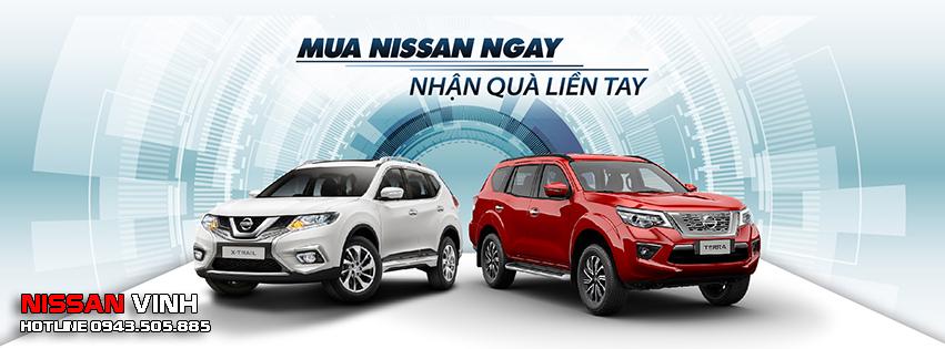 Nissan Vinh trưng bày và lái thử các dòng xe Nissan tại Con Cuông