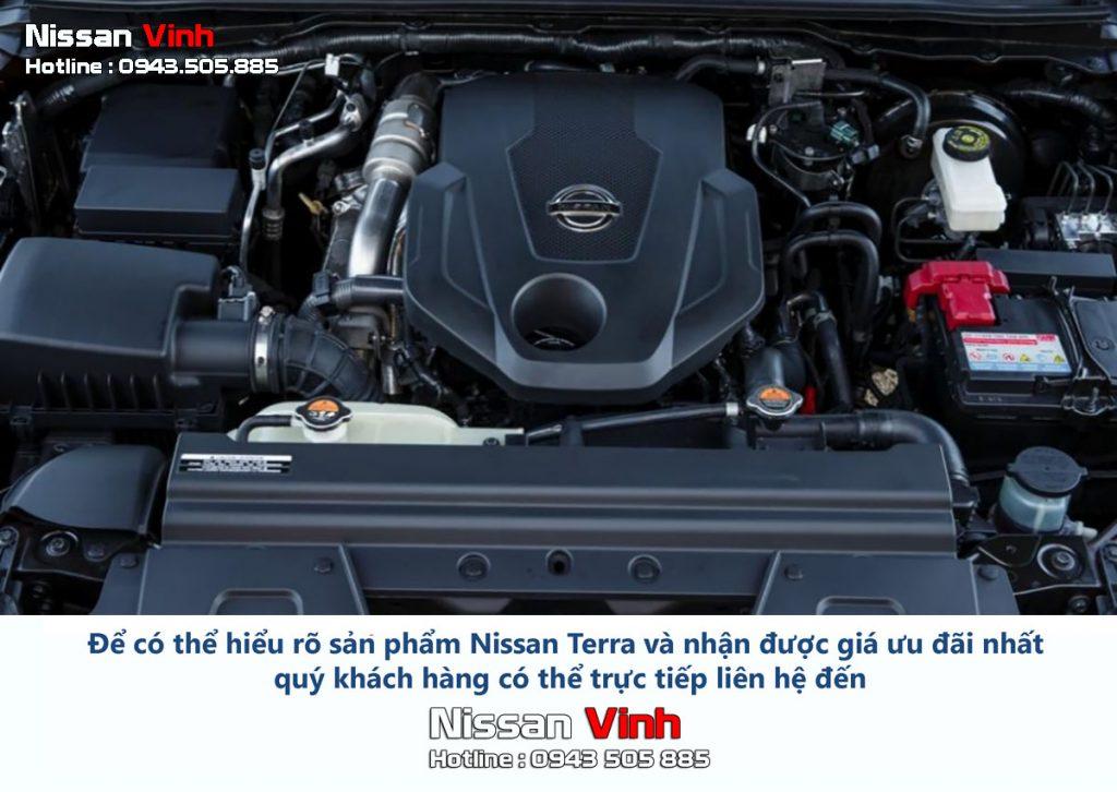 Động cơ xe Nissan Terra 2019