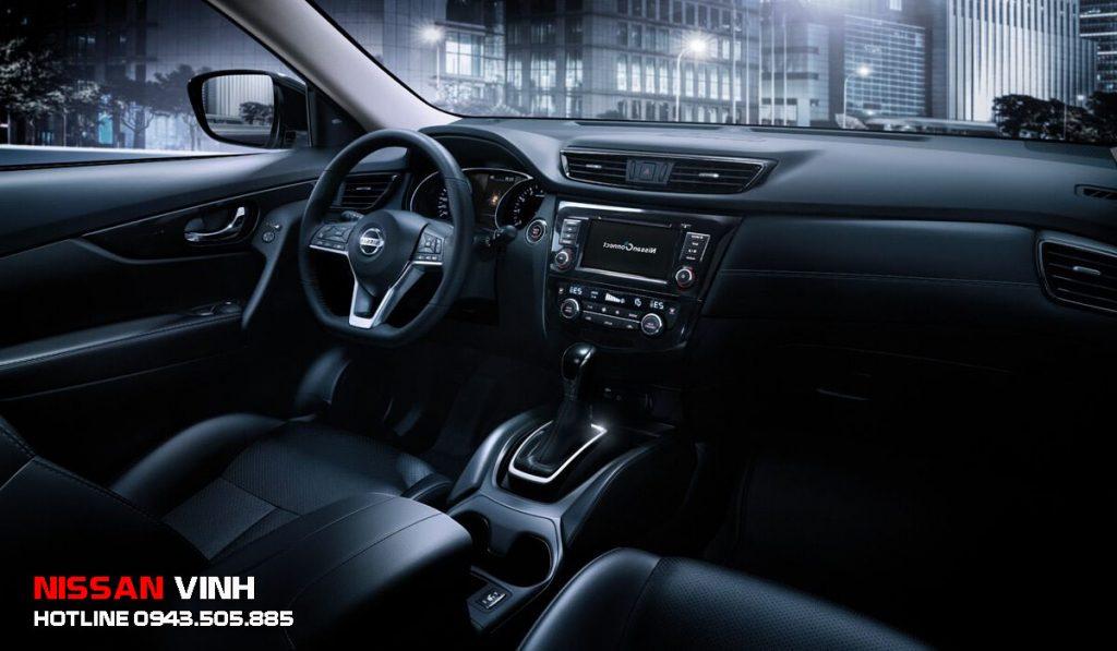 Nội thất Nissan Xtrail 2020