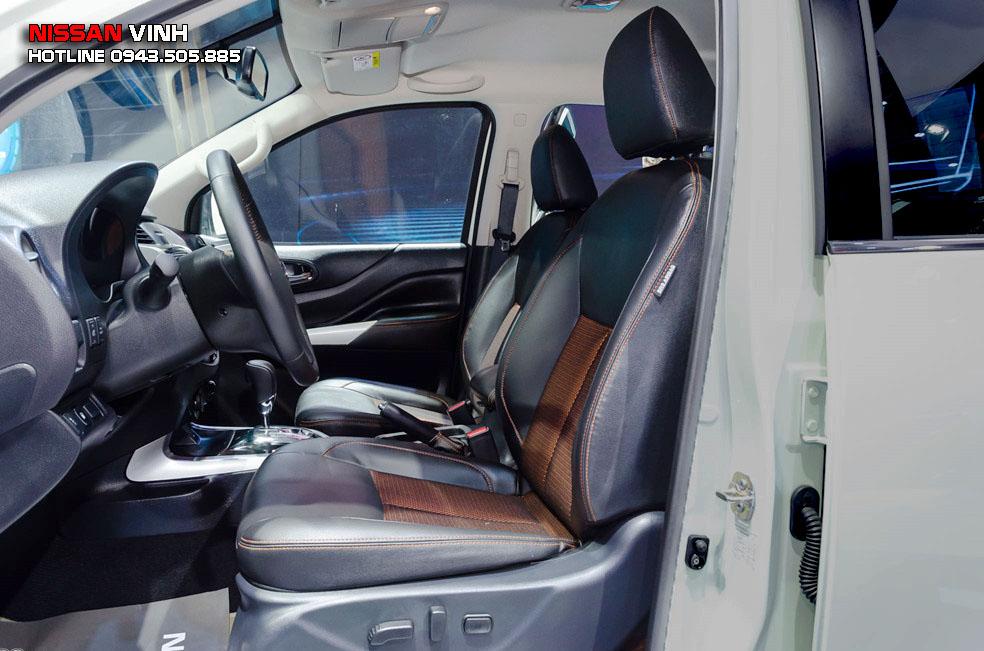 Nissan Navara Black Edition bản cao cấp có chức năng chỉnh điện 8 hướng
