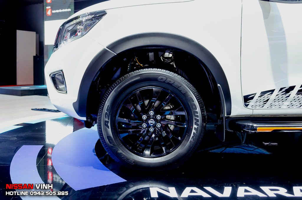 Mâm xe hợp kim 18 inch cho NISSAN NAVARA BLACK EDITION 2019