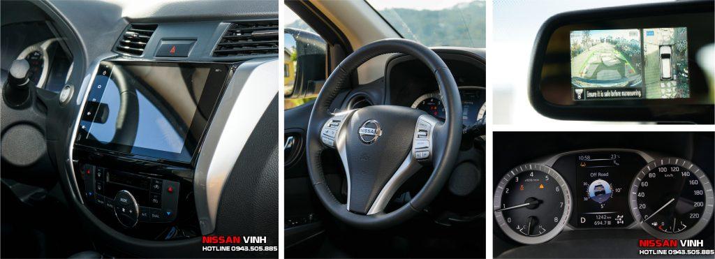 Hệ thống giải trí màn hình cảm ứng trên Nissan Terra