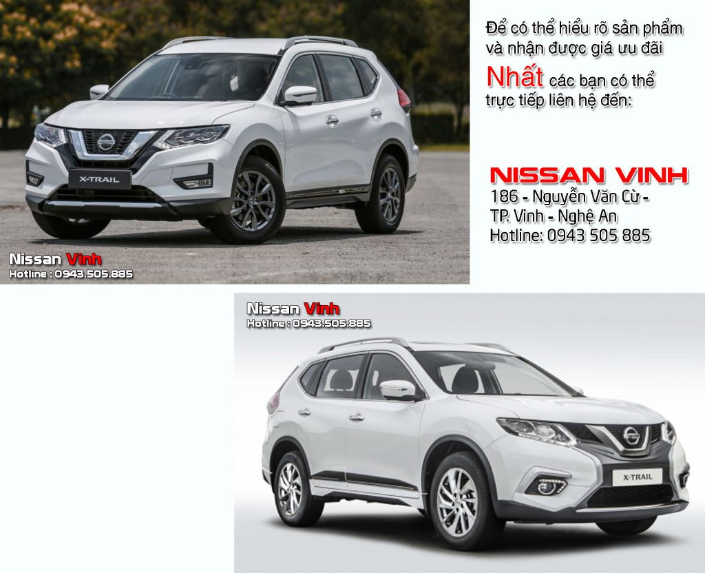 so sánh Nissan Xtrail 2019 Nissanvinh 02