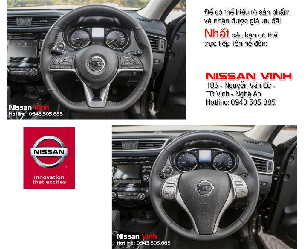 So sánh Nissan X-Trail V-Series và Nissan X-Trail facelift về Nội thất