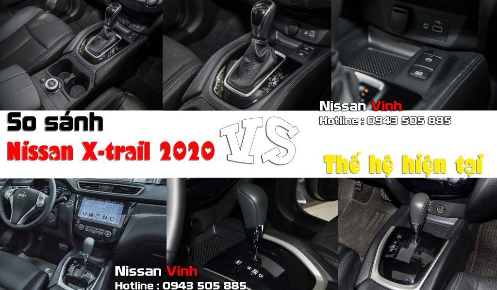 so sánh Nissan Xtrail 2019 Nissanvinh 11