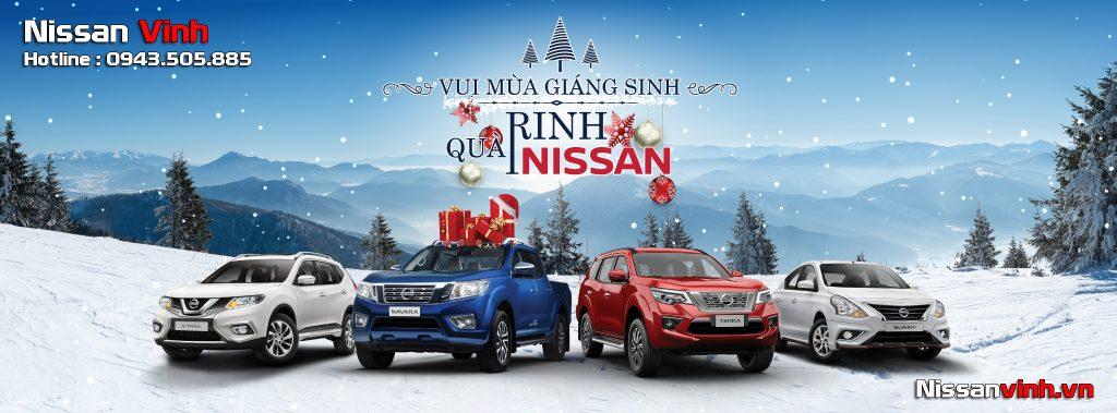 Chương trình khuyến mại xe Nissan trong tháng 12/2019