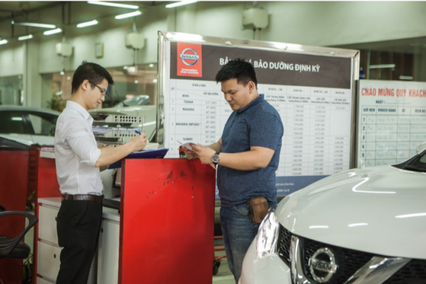 Nissan Vinh Tuyển Dụng Cố vấn dịch vụ
