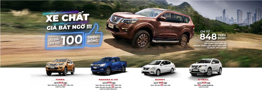Chương trình khuyến mãi cho xe Nissan Terra