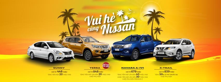 Chương trình khuyến mãi xe Nissan trong tháng 5/2020