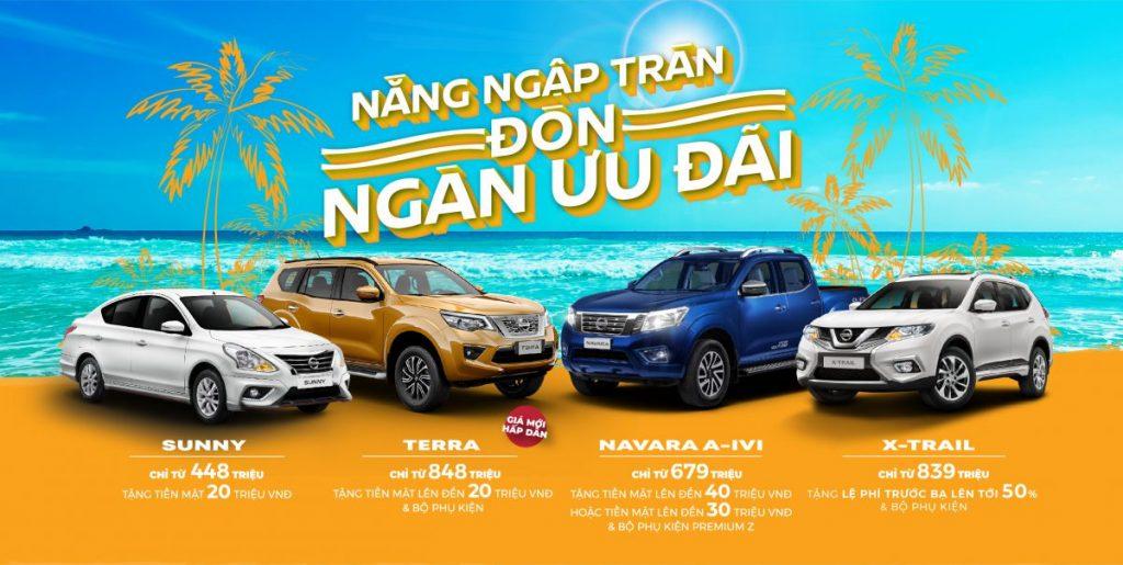 Chương trình khuyến mãi xe Nissan