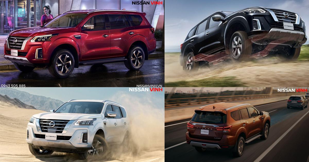 Màu xe Nissan X-Terra 2021