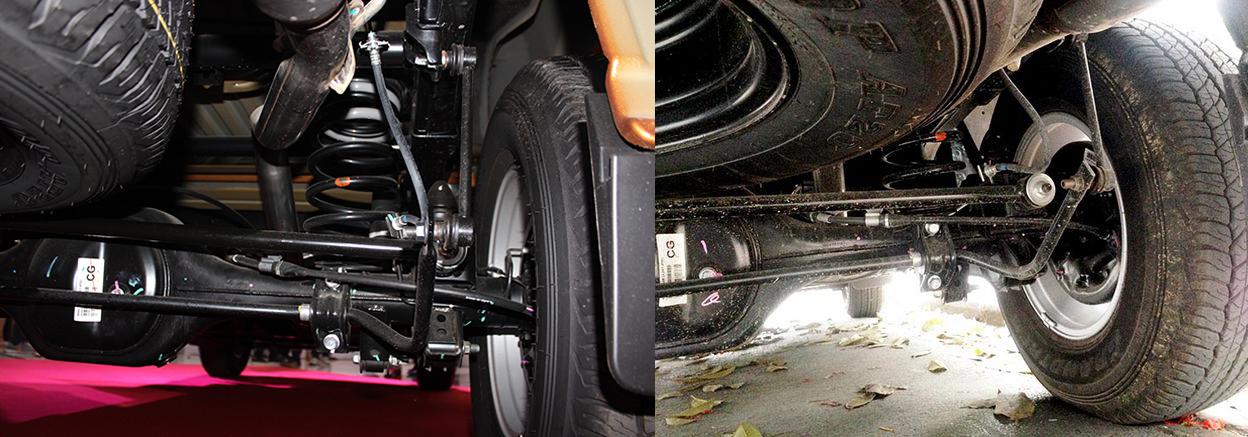 Nissan Navara 1 cầu số tự động trang bị Hệ thống treo sau đa liên kết