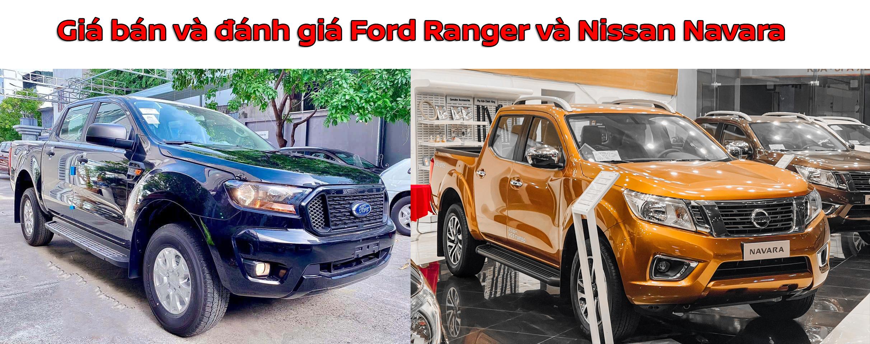 So sánh Nissan Navara và Ford Ranger 2