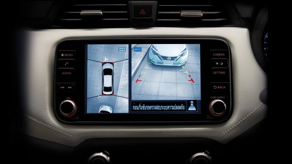 Màn hình trên Nissan Almera