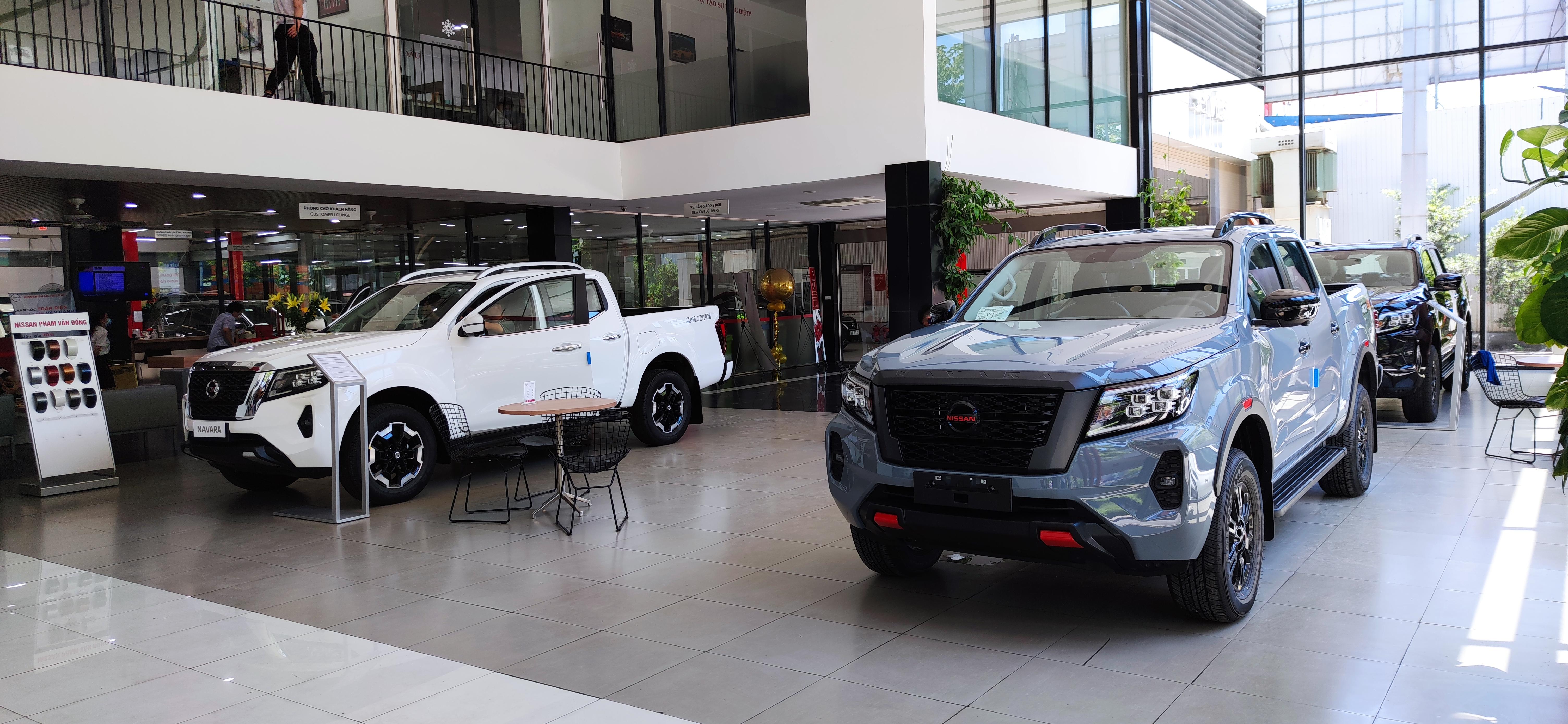 Nissan Navara 2021 được bán ra với 4 phiên bản.